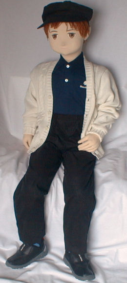 Life-size boy doll