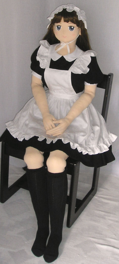 Girl Doll In Maid Costume