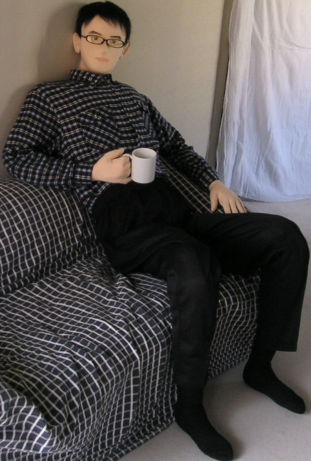 Man Doll With Glasses